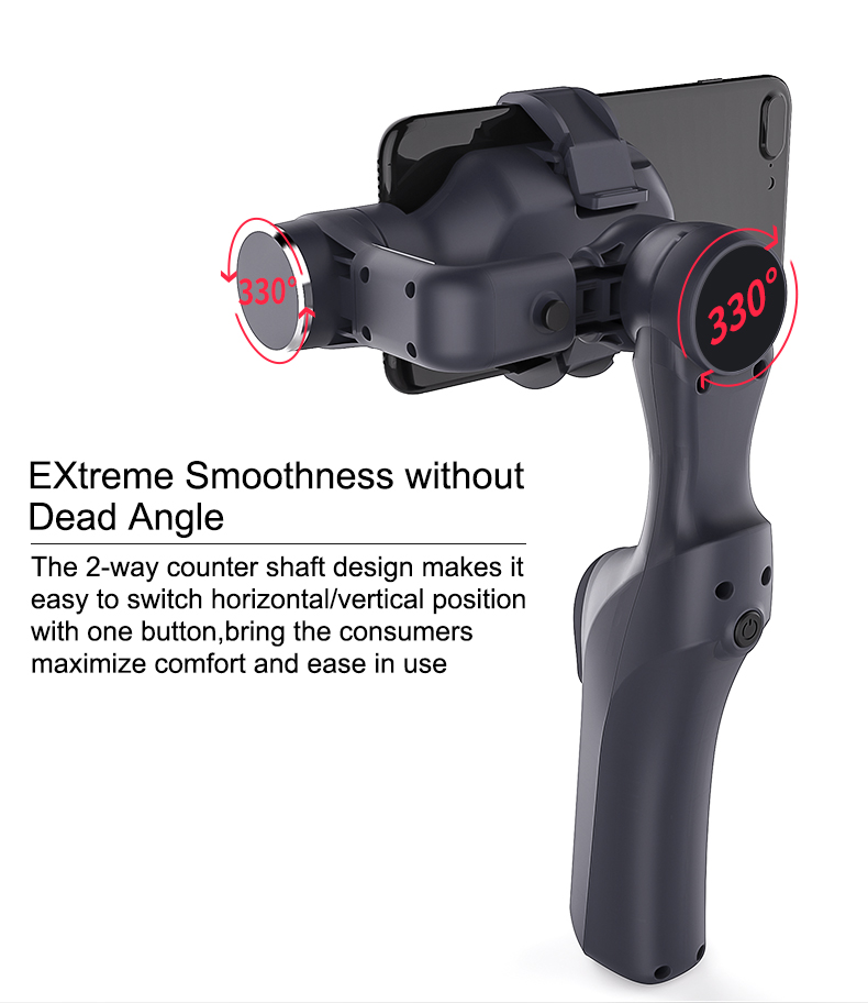 Gimbal for Smartphone and Gopro