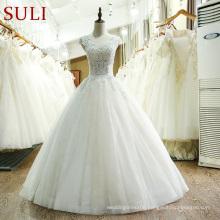 SL-218 New Arrival Ball Gown Wedding Dress 2017 Vestido de festa