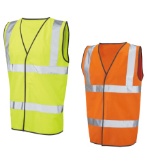 Safety vest with hook & loop