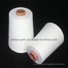 Raw White Knitting Yarn Viscose OE Yarn