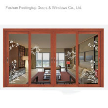 Residential Metal Framed Windows with Double Glass (FT-W126)