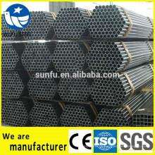 Fornecimento ERW preço de tubo de aço para escada de aço