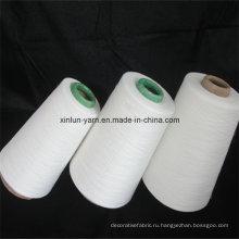 Лучшее качество Tr Смешанная пряжа Polyester65 / Rayon35 для вязания