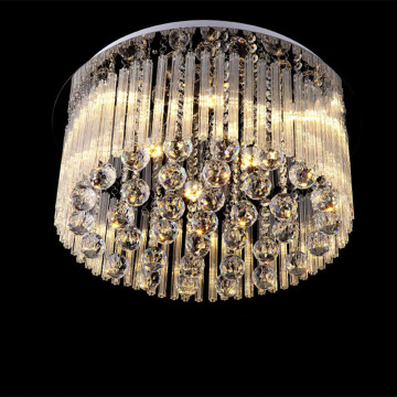 bedroom decorative crystal ceiling light