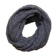 Womens Twist Pattern Gestrickte Winter Circle Loop Schal Snood (SK104)