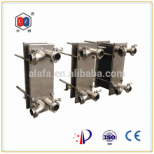 milk cooling by plate heat exchanger,heat exchange equipment