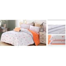 Juego de cama de microfibra de poliester / juego de cama de 4 piezas F1731