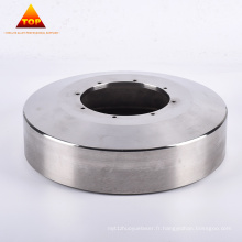 Platine de filature en alliage de chrome cobalt coulée centrifuge