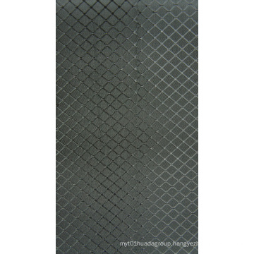 Polyeater Ripstop Diamond High Elastic Fabric for Bags with PVC