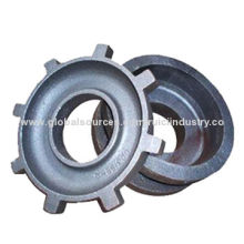 OEM grey iron GG25 hot resin sand casting, cast iron foundry