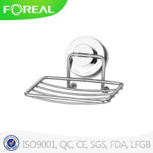Chromed Metal Wire Soap Stand with Suction