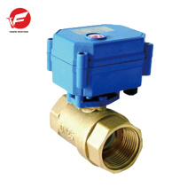 Válvula de control de flujo hidráulico eléctrico de bola motorizada CWX-15q
