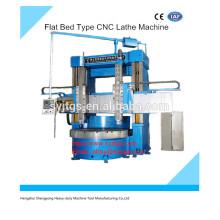 Gebrauchte Swing Flat Bed Typ CNC Drehmaschine Maschinenpreis zum Verkauf