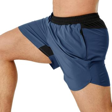 Short de sport taille élastique avec poche pour homme