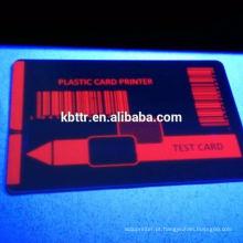 Fita UV uv azul fluorescente da impressora de cartão da zebra