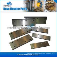 Componentes del elevador, Plataforma de elevación para los rieles de guía del ascensor