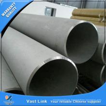 Mill Certificated Stocked ASTM B338 Gr2 Tubo de titanio transparente