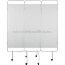 painting frame three folding medical ward screen with castors