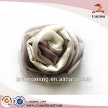 Bufanda de lana de cachemir gris