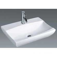 China Rectangular Bathroom Counter Top Basin (7095)