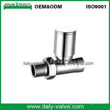 CE Certified Chromed Brass Straight Radiator Valve (AV3081)