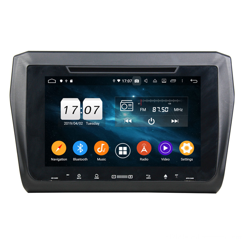 car entertainment system for Swift