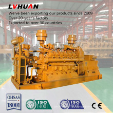 Gerador de Gás Natural Lvhuan 50Hz / 60Hz 600kw