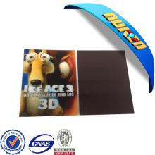 Imán lenticular promocional del refrigerador 3D del regalo