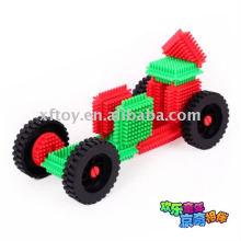 Blocos coloridos da roda de carro