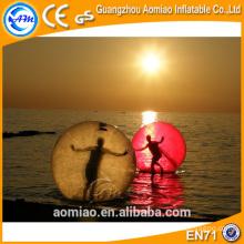 Big inflável flutuante jumbo bola de água, água pé bola, inflável água caminhando bola preço de aluguel