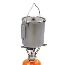 French Press Coffee Plunger Titanium Mug Moka Pot