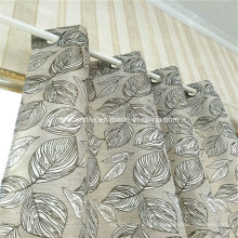 Typical Circle Design Linen Rideau 100% Polyester similaire