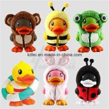 PU Foam Stress Lovely Plush Duck Kids Indoor Playground Toys