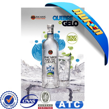 Cartel amistoso de la publicidad lenticular 3D de E-Co