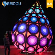 Inflável balões de LED pendurado inflação inflável personalizado Natal bolas decorações