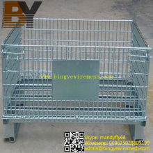 Wire Mesh Tray Supermarket Roll Container