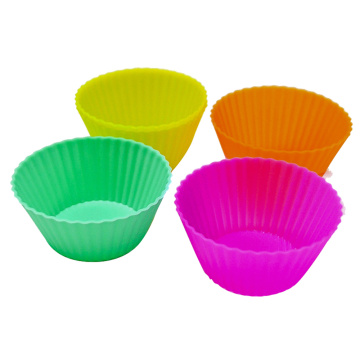 Muffin Silicone Moules Pour Gâteau Micro-ondes