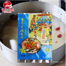 Seafood broth hot pot bottom material