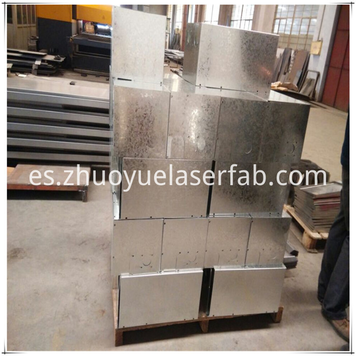 custom galvanized steel box