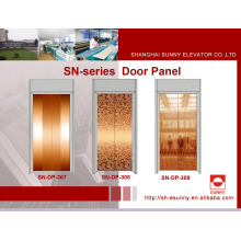 Elevator Door Panel in Rose Golden Color (SN-DP-307)