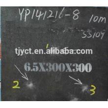 Placa de aço à prova de balas NP450 NP500 NP550