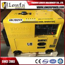 5kw 6kVA Einphasig AC Ausgang stille Dieselgenerator