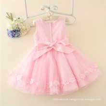 Alta qualidade rosa bebê meninas vestido de casamento for3-12years