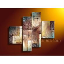 Peinture à l'huile décorative en toile à la main