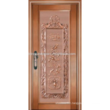 luxury copper door villa door exterior door single door KK-721