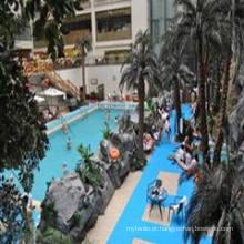 Fabricante profissional do piso da piscina