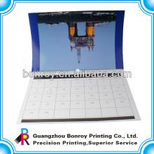 Beste Qualität gebrandmarkt Kalenderdruck Guangzhou