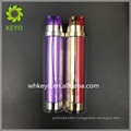 30ml 50ml 100ml Hot sale high quality make up packing colored empty cosmetic double pump head acrylic airless bottle