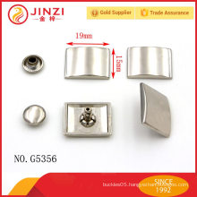 Die-casting handbags hardware cap rivets for bag accessories