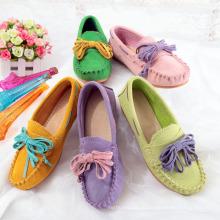 Mulheres Casuais de Maternidade Alpercatas Flat Heel Leather